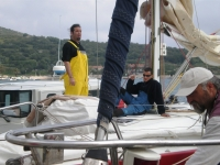 <strong>Anadora crew waiting for start</strong> | views: 34